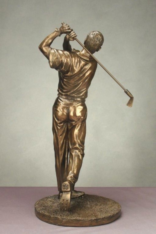 Photo of Male Golfer Figurine