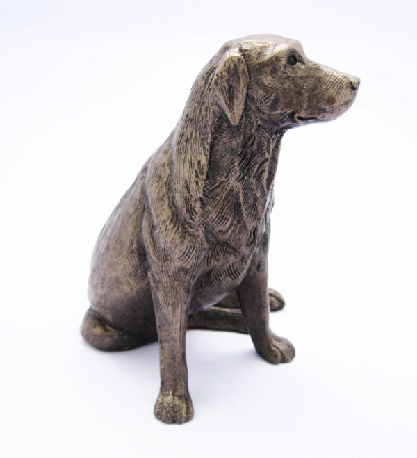 Photo of Nigel Labrador Bronze Sculpture (Frith)