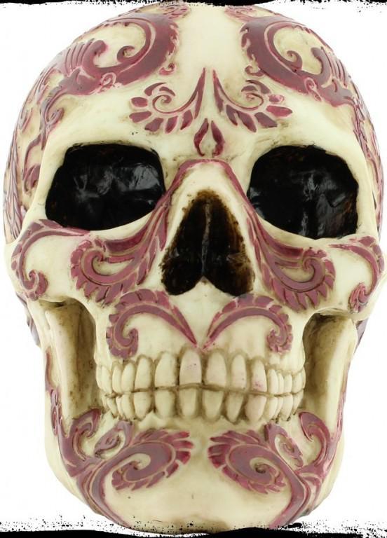 Photo of Oriental Skull Ornament (Anne Stokes)