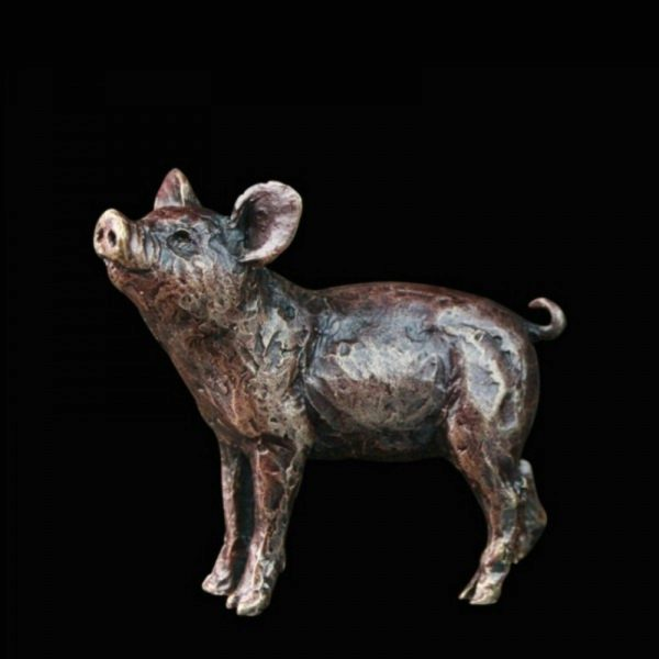 Photo of Pig Bronze Miniature (Butler and Peach)