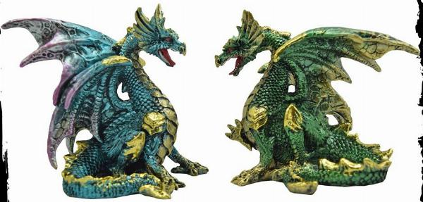Photo of Precious Wings Dragon Figurines (Set of 4)