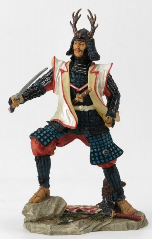 Photo of Samurai Warrior Colour Figurine