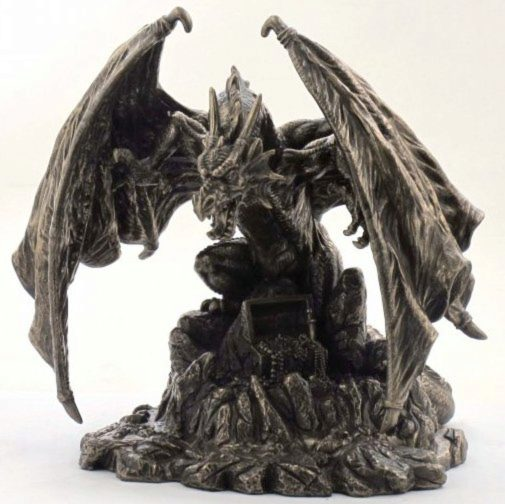 Photo of Snarlfyre Dragon King Bronze Figurine