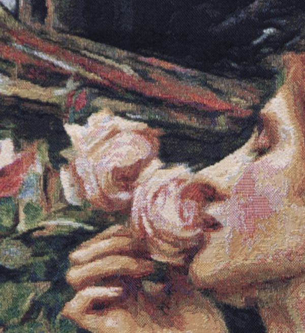 Phot of Soul Of The Rose By Waterhouse Wall Tapestry