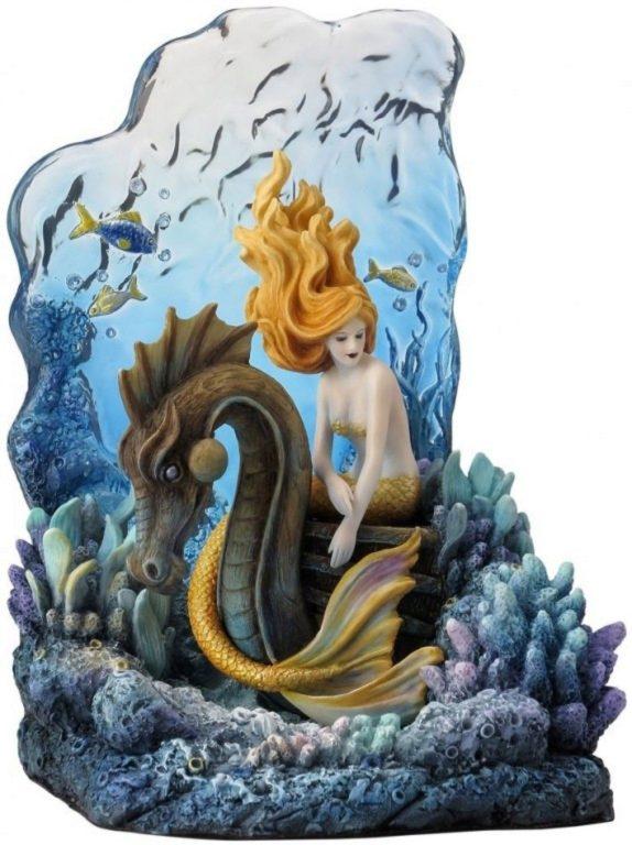 Photo of Sunlit Seas Mermaid Figurine (Selina Fenech) 20cm
