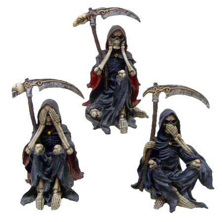 Photo of Three Reapers Ornaments