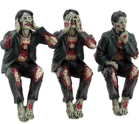 Photo of Three Wise Zombies