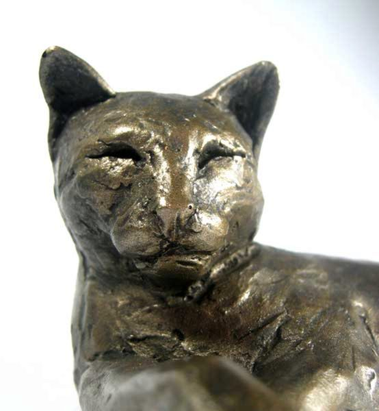 Photo of Tinkabelle the Cat Sculpture