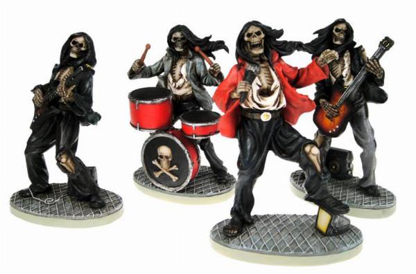 Photo of Undead Rockers 10 cm (Set of 4 Figurines)