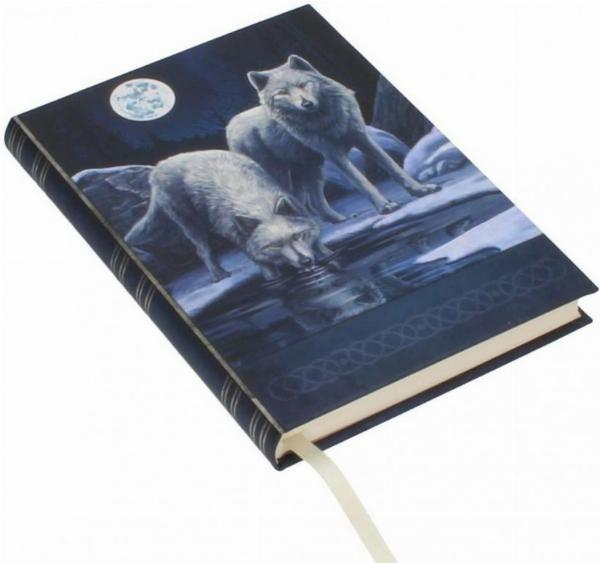 Photo of Wolf Warriors of Winter Embossed Journal Lisa Parker