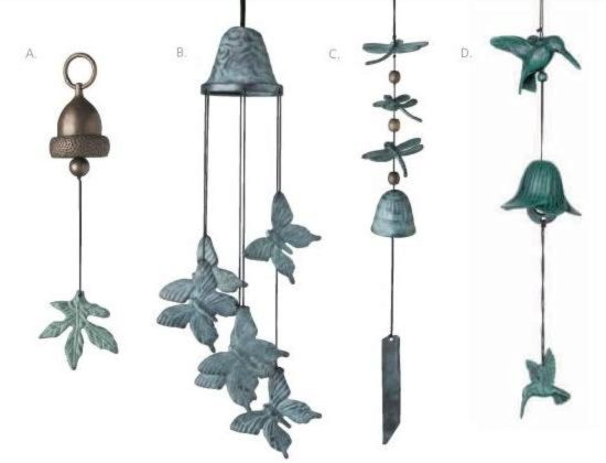 Photo of Woodstock Acorn Wind Bell (Habitats)