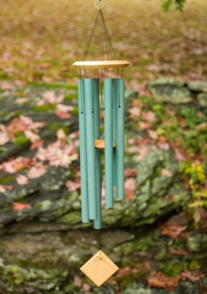 Photo of Woodstock Chimes of Earth (Verdigris)