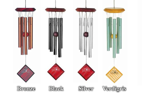 Photo of Woodstock Encore Pluto Wind Chimes (Silver)