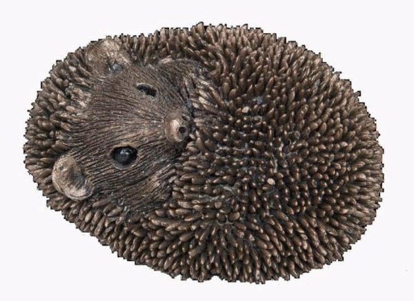 Photo of Zippo Small Hedgehog Bronze Sculpture (Thomas Meadows)