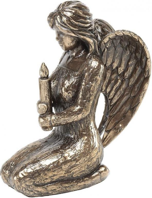 Photo of Angel of Light Bronze Figurine