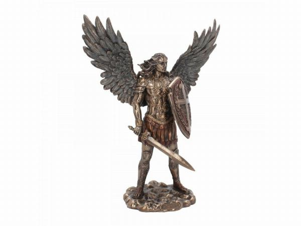 Photo of Archangel Michael Bronze Figurine 36 cm