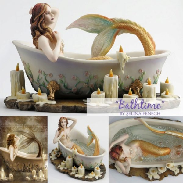Photo of Bath Time Mermaid Figurine (Selina Fenech) 23cm