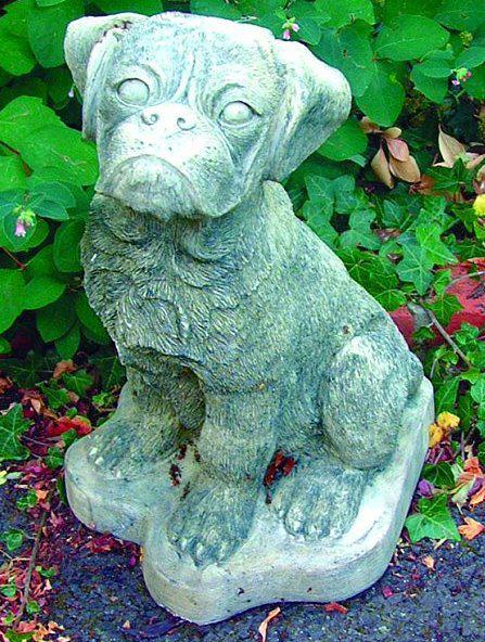 Photo of Boxer Dog Stone Ornament