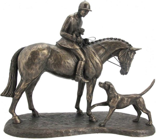 Photo of Country Companions Hunter and Hound Figurine (Harriet Glen)