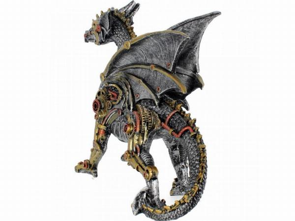 Photo of Dracus Machina Steampunk Dragon Large Figurine 31cm
