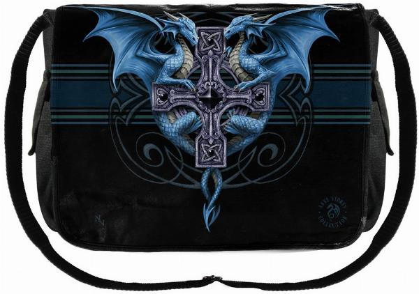 Photo of Dragon Duo Messenger Bag (Anne Stokes)