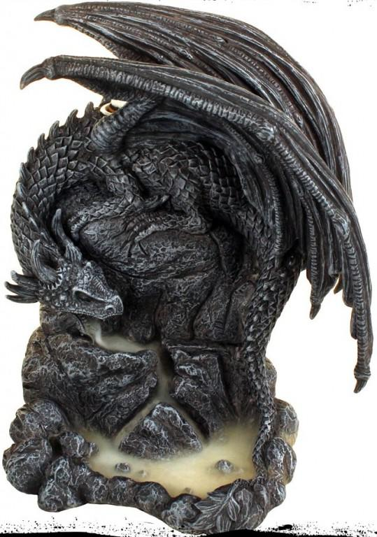 Photo of Dragon Pool Backflow Incense Burner 19cm