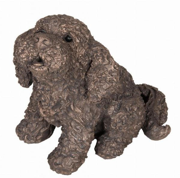 Photo of Frankie the Cockapoo Bronze Figurine (Frith) Large
