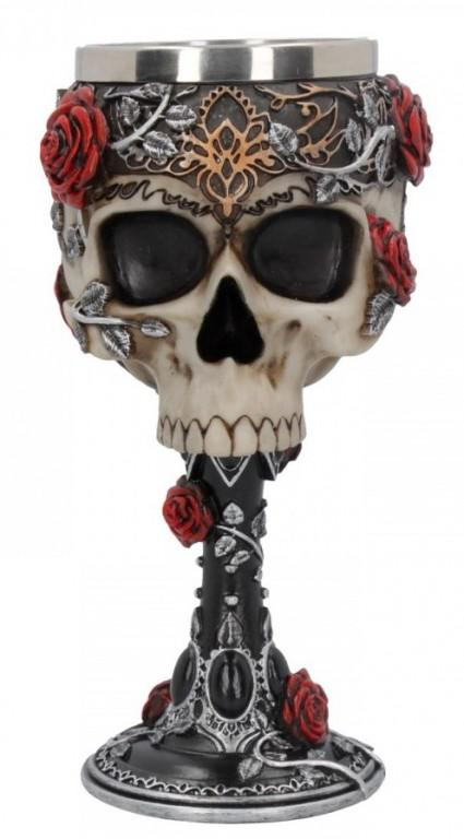 Photo of Gothic Rose Goblet 18 cm