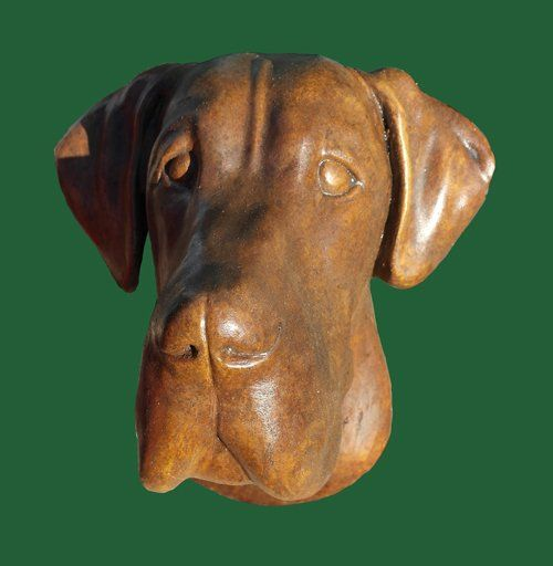 Phot of Great Dane Dog Stone Plaque