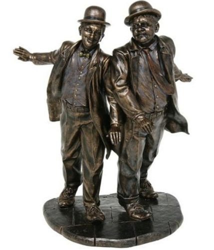 Photo of Laurel and Hardy Bronze Figurine