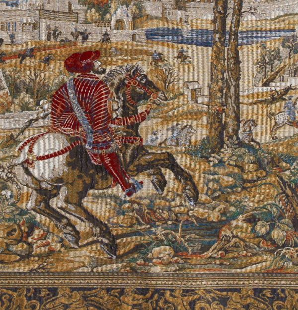 Phot of The Hunts of Maximilian Month of March Wall Tapestry