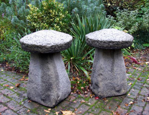 Photo of Pair of Large Staddle Stones