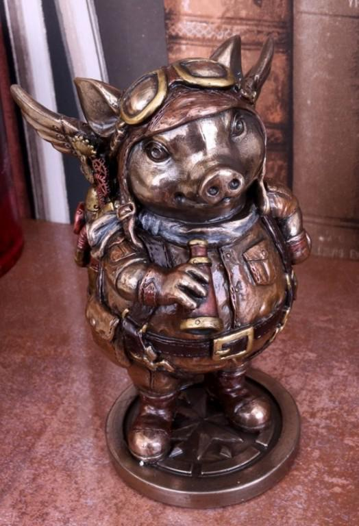 Photo of Porcus Machina Bronze Figurine