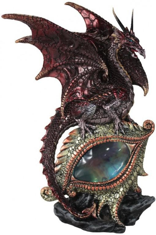 Photo of Protector of the Eye Red Dragon Light Feature Figurine (Alator) 21 cm