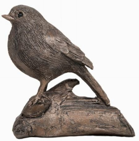 Photo of Robin Bronze Figurine (Thomas Meadows) 14cm