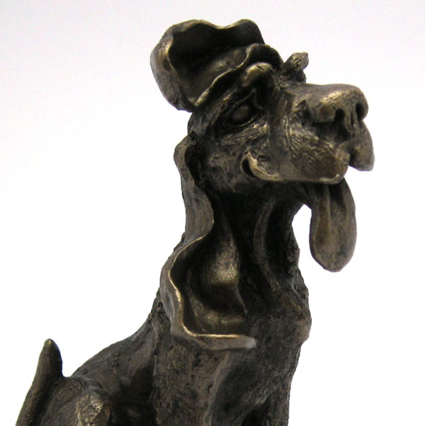 Photo of Rusty the Dog Sculpture