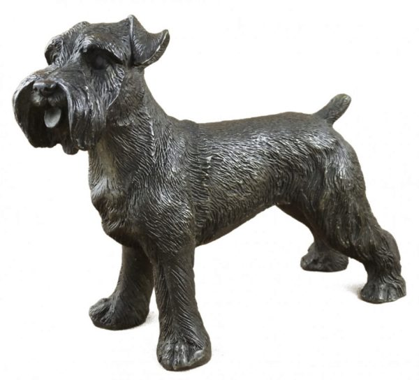 Photo of Schnauzer Dog Bronze Ornament