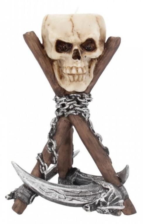 Photo of Scythe Skull Tealight Holder