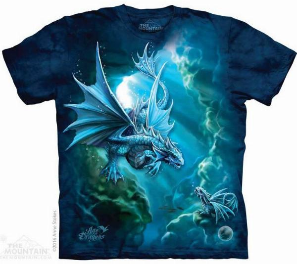 Photo of Sea Dragon Anne Stokes T Shirt The Mountain