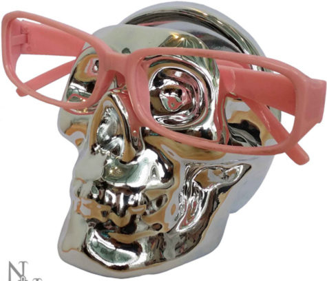 Photo of See No Evil Glasses Holder Skull