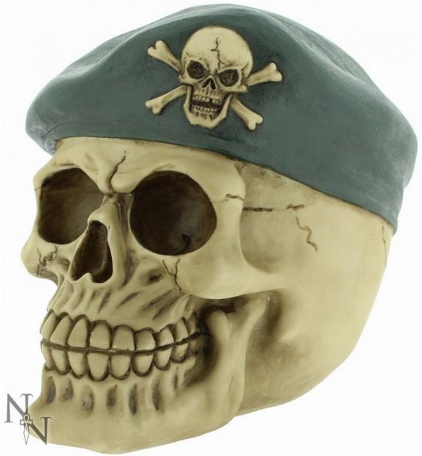 Photo of Sergeant Major Skull 14cm