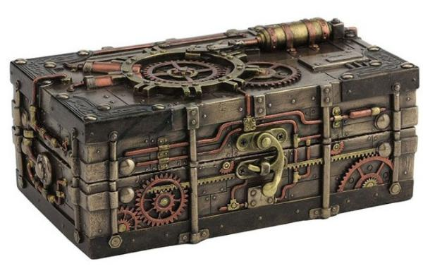 Photo of Steampunk Jewellery Box