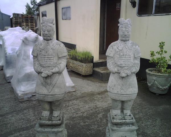 Photo of Terracotta Warrior Stone Statue