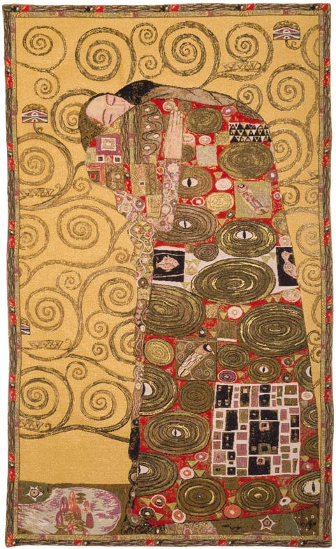 Phot of The Accomplishment By Gustav Klimt Wall Tapestry I