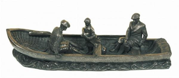 Photo of The Currach (Small) Bronze Ornament