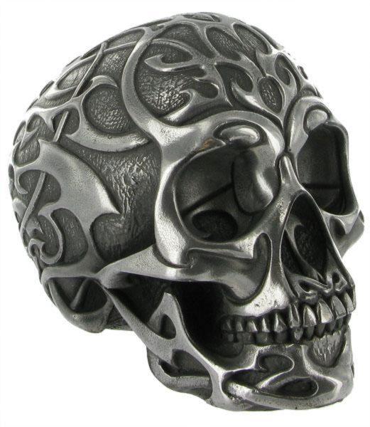 Photo of Tribal Skull Silver Medium