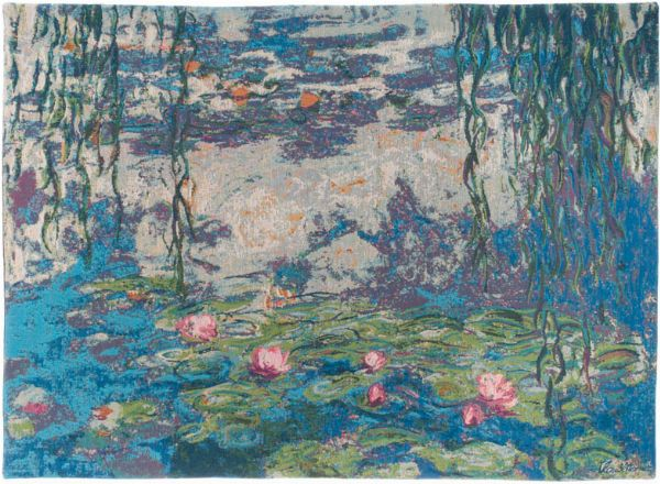 Phot of Water Lilies By Monet Wall Tapestry I