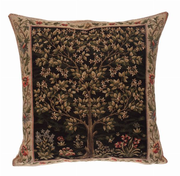 Phot of William Morris Tree Of Life Tapestry Cushion Iii