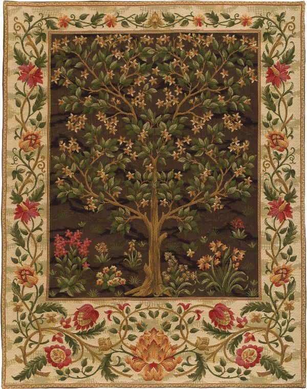 Phot of William Morris Tree Of Life Wall Tapestry Iii