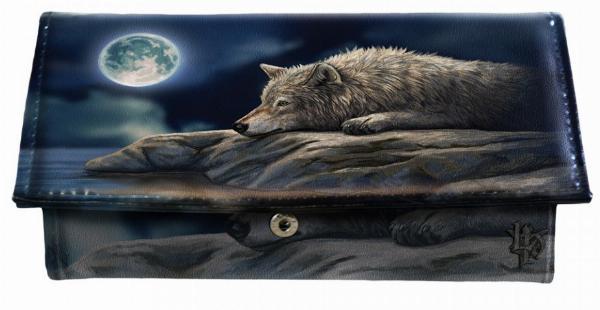 Photo of Wolf Quiet Reflection Purse (Lisa Parker) 18cm